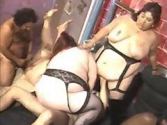Splendid chubby girl frisking in bed in fat sex clips