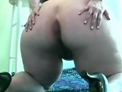 Splendid chubby girl frisking in bed in fat sex clips