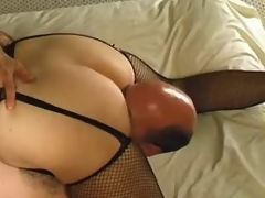 Horny fat lady with big tits itching for cock