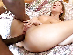Cute Babe Gets Her Butt Drilled In Anal Sex Act By Black Rod