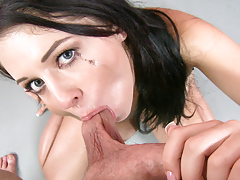 Nice And Long Blow Job Miss Madelyn Is Giving A Random Dude