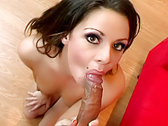 Consummate prostitute moans as this girl can't live without sucking this hard rod