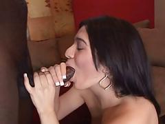 Ache Latina Enjoys Fucking A Big Black Cock All Poses