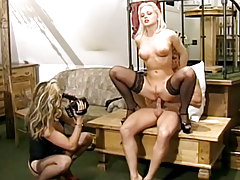 Horny Silvia Sainth & Her Lustful Friend Get 2 Big Jocks