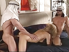 Peter &Friend Fucking Hard Some Horny Whore &Coming All Over