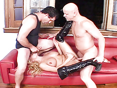 Sexy sheladys with intense dicks suck, fuck and hit orgasm.