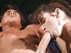 Lucky Peter Enjoys Fucking Nina Hartley & Her Passionate Friend