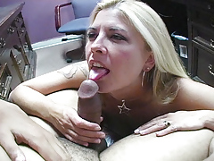 Joclyn Stone shoes that she is the master of sucking cock