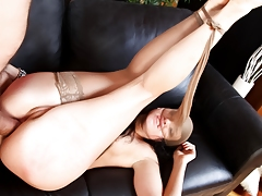 This super hot chick likes having a cock in her sexually intrigued ass !