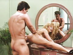 Excited Nina Hartley Gets Fucked By Powerful Peter North