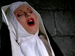 Lesbo nun licks abbess