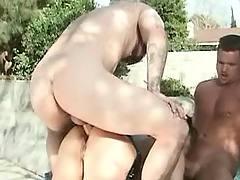 Asian beauty in orgy