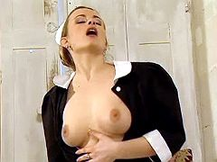 Housemaid seducing master