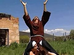 Two cock hungry nuns