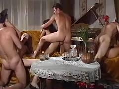 Fantastic swinger orgy