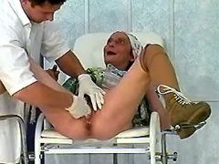 Horny granny in hospital