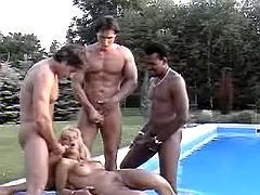Hot slut get dirty in cum