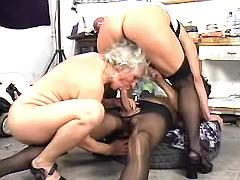 Man fucking with two moms