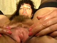 Milf enjoys plastic penis