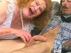 Kinky granny 85 yo sucks