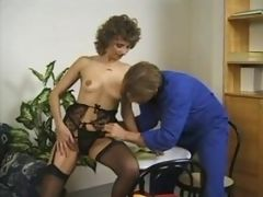 Mature housewife handles big cock