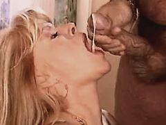 Cute milf fucks n gets cum in mouth