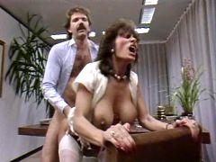 This retro secretary turned to be horny as hell