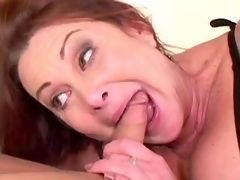 Senior lady itching for meaty boner