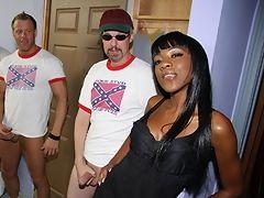 Rednecks gangbang & bukkake black babe interracial