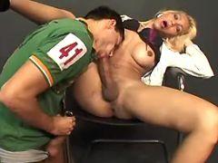 Stud deep throats big shemales cock