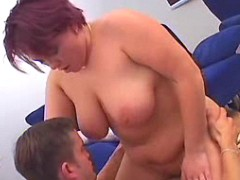 Plump housewife screwed