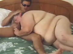 Giant fatty sucking cock