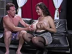 Fatty blowing hard dick