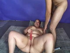 Fatty gets oral pleasure