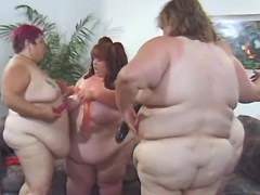 Four awesome fat babes