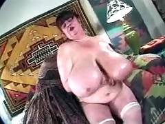 Two mature busty fatties