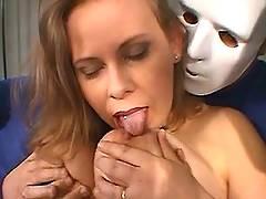 Masked freaks share milf