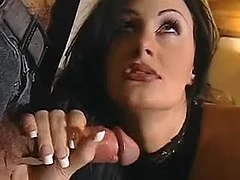 Mature slut in wild orgy