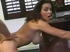 Hard fucking in anal hole