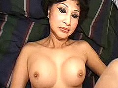Cute Japanese mom in orgy