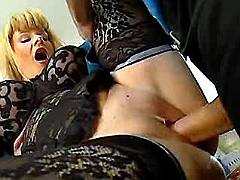 Milf gets hard nailing