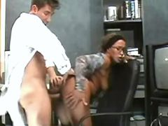 Hot secretary fucked