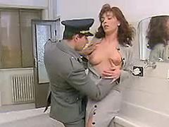 Slutty seduces policeman