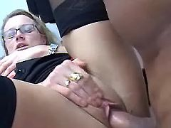 Secretary fucked on table