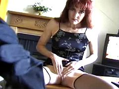Mom accepts cum on tits