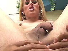 Wild fast anal with tgirl