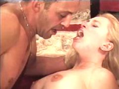Blonde milf has hard sex