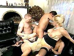 Titty aged sluts in orgy