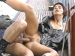 Depraved slut gets fucked