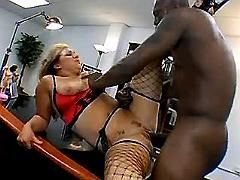 Black boss fuck secretary